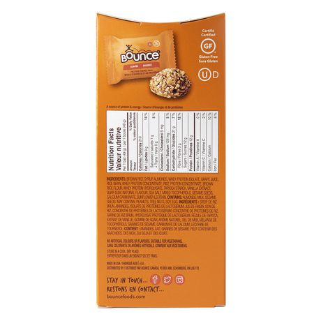 Bounce Protein Energy Ball Almond - image 2 of 2