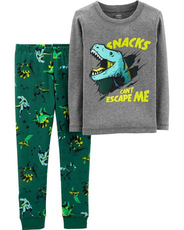 Child of Mine made by Carter s Toddler Boys 2-piece Pajama- Dino - image ... cddefbcde
