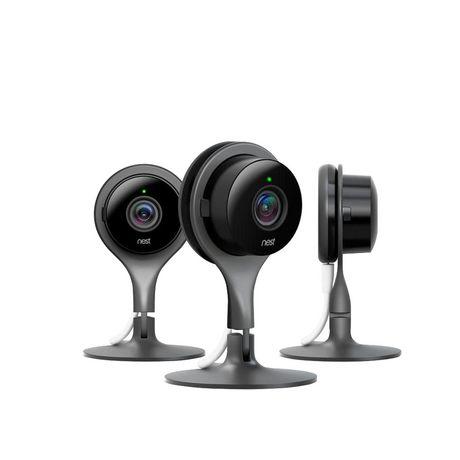 nest cam indoor security camera 3 pack walmart canada rh walmart ca