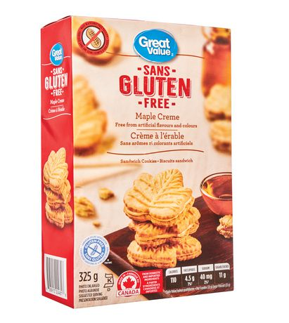 Great Value Gluten Free Maple Cream Sandwich Cookies - image 2 of 3