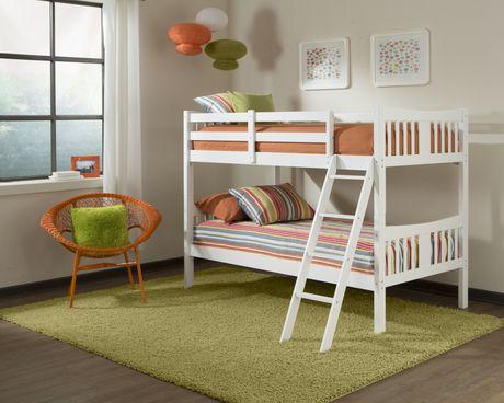 Stork craft espresso caribou bunk bed for Stork craft caribou bunk bed