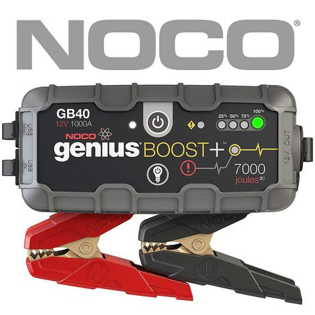 NOCO Genius GB40 Boost+ Jump Starter and Power Bank, 1000 Amp - image 1 of 1