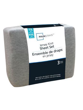 Mainstays Jersey Knit Sheet Set Walmart Canada