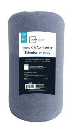 Mainstays Jersey Knit Comforter Set - image 1 of 1