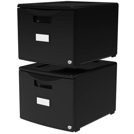 X One Drawer Mini File Cabinet, Mini File Cabinet