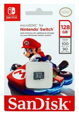San Disk 128 Gb Microsdxc Uhs I Card For Nintendo Switch   Sdsqxat 064 G Gn6 Za by San Disk