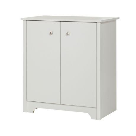 petite armoire de rangement à 2 portes vito de meubles south shore