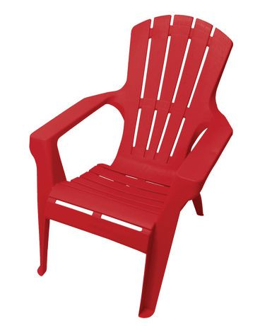 Gracious living resin adirondack chair walmart canada for Chaise adirondack canadian tire