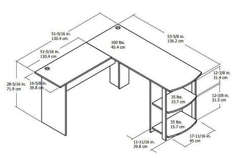 Desk Width Remar