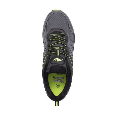 Athletic Works Men's Lace up Wide Fit Running Shoes - image 2 of 2