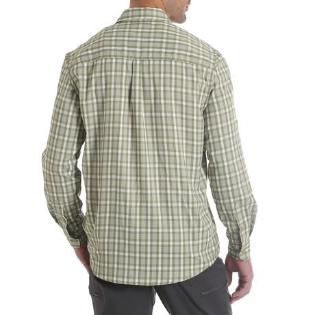 Wrangler Men 39 S Long Roll Tab Sleeve Utility Shirt