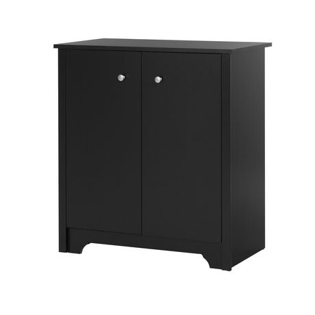 south shore vito small 2 door storage cabinet. Black Bedroom Furniture Sets. Home Design Ideas