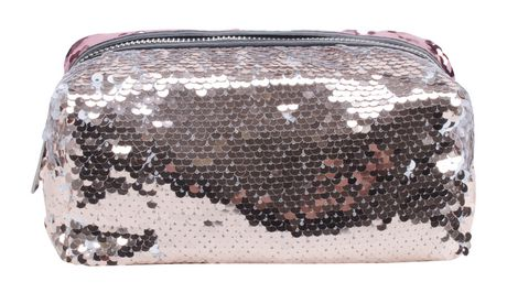 AMF Reversible Sequin Accessory Pouch - image 3 of 4