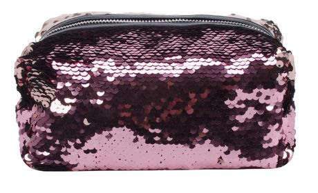AMF Reversible Sequin Accessory Pouch - image 1 of 4
