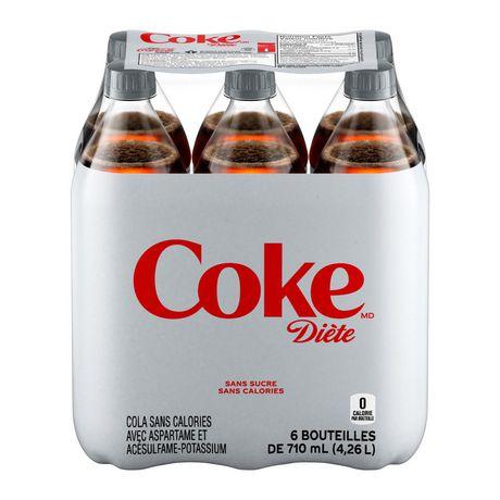 Coke DièteMD, emballage de 6bouteilles de 710mL - image 2 de 10