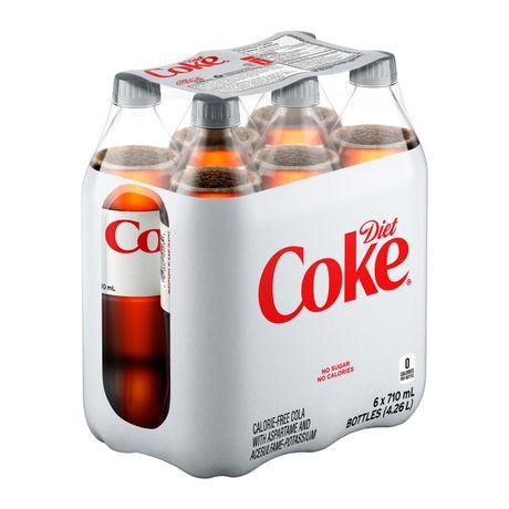 Coke DièteMD, emballage de 6bouteilles de 710mL - image 3 de 10