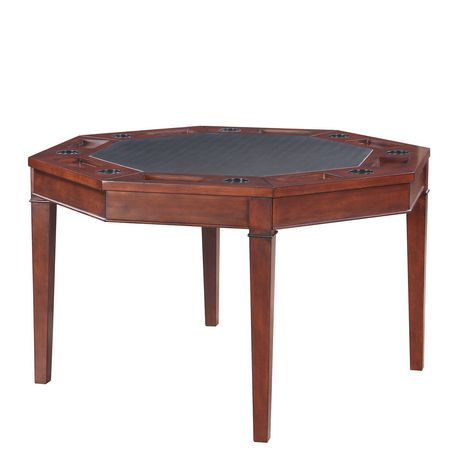 Ens table et chaises de poker pliante broadway de for Table pliante walmart