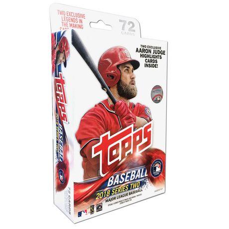 18 Topps Series 2 Baseball Mlb Hanger Box Trading Cards