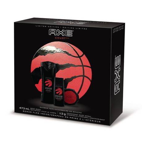 best service 8cab1 46d1a AXE Court Limited Edition Raptors Gift Pack