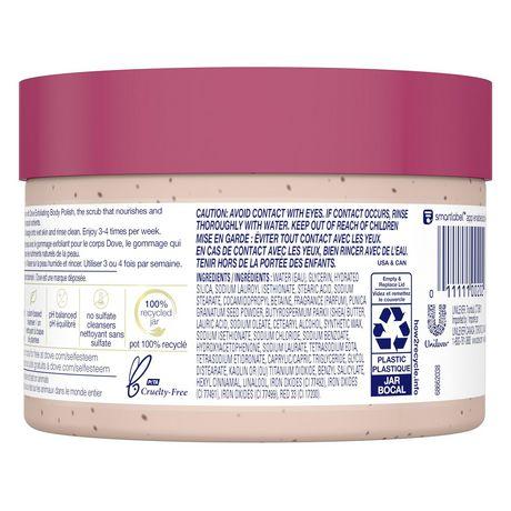 Dove Pomegranate Seeds & Shea Butter Exfoliating Body Polish - image 3 of 7