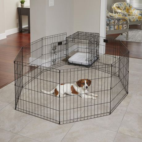 Midwest Homes For Pets 24 Quot Exercise Pen With Step Through