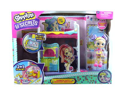 Shopkins -Lil' Secrets Series 1 - Rainbow Kate's Bedroom Hideaway - image 5 of 6