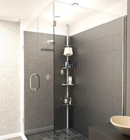 tour de rangement de douche eifel d 39 artika. Black Bedroom Furniture Sets. Home Design Ideas