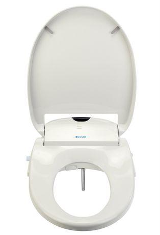 Siège de toilette Swash 900 de Brondell Bidet rond en blanc - image 2 de 3