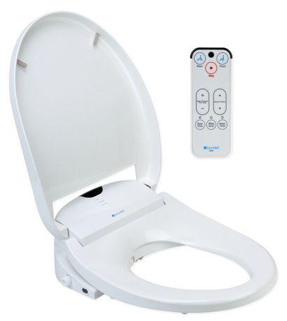 Siège de toilette Swash 900 de Brondell Bidet allongé en blanc - image 2 de 5