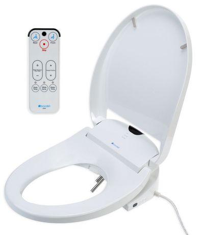 Siège de toilette Swash 900 de Brondell Bidet allongé en blanc - image 3 de 5