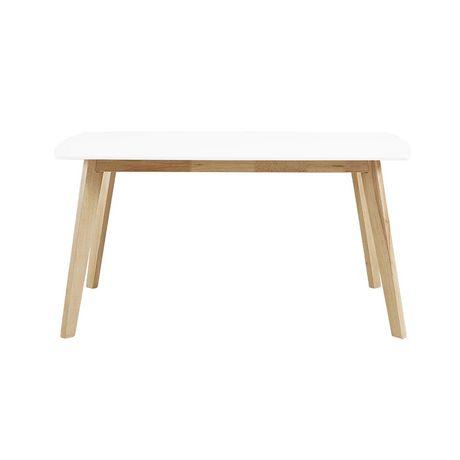 Manor Park Table à manger rétro moderne en bois - image 3 de 5