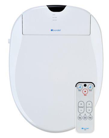 Siège de toilette Swash 900 de Brondell Bidet rond en blanc - image 2 de 5
