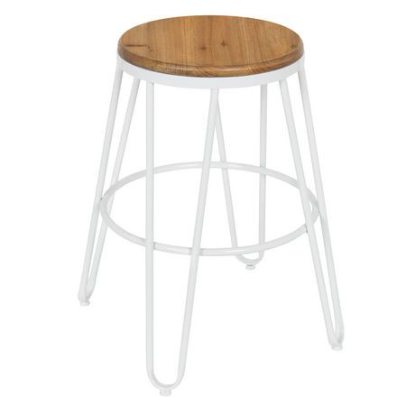 pin wood reclaimed furniture with stool industrial w metal modern simon bar seat restaurant