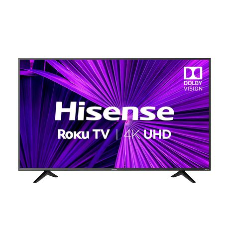 "Hisense 55"" 4K Ultra HD LED Roku Smart TV (55R6209) - image 1 of 8"