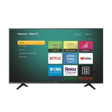 "Hisense 55"" 4K Ultra HD LED Roku Smart TV (55R6209) - image 2 of 8"