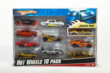 hot wheels assorted 10 car pack walmart canada - Voitures Hot Wheels