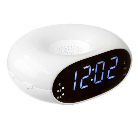 Onn colour changing dual alarm clock radio walmart canada fandeluxe Gallery