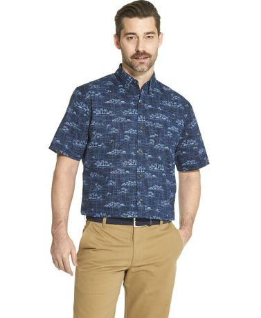 Arrow Men's Short Sleeve Casual Shirt - image 1 of 2
