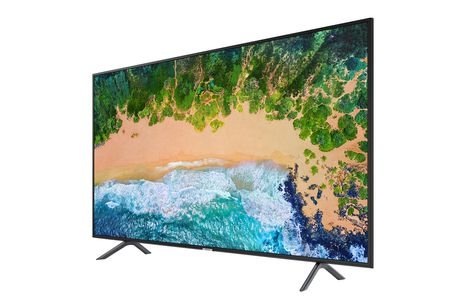 "Samsung 50"" UHD 4K Flat Smart TV - UN50NU7100FXZC - image 1 of 4"
