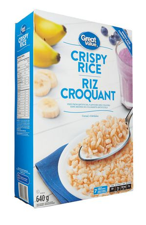 Great Value Family Size Crispy Rice - image 2 of 3