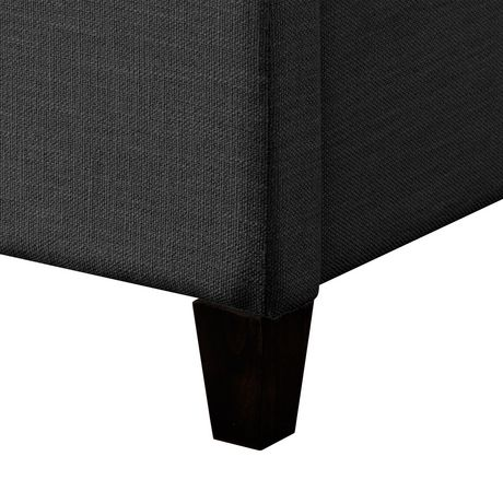 32155958fe2d CorLiving Rosewell Vertical Channel-Tufted Fabric King Bed Frame - image 7  of 9 ...