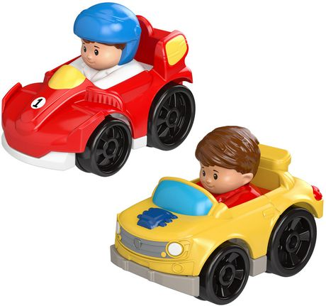 Little People Wheelies 2-Pack, Race Car & Muscle Car - image 1 of 3