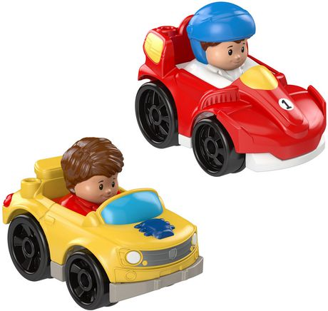 Little People Wheelies 2-Pack, Race Car & Muscle Car - image 2 of 3