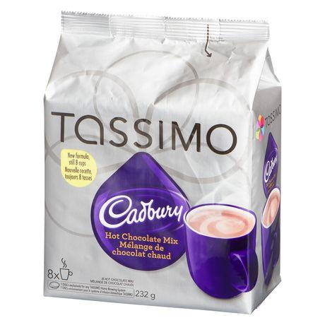 Tassimo Cadbury Hot Chocolate Single Serve T Discs