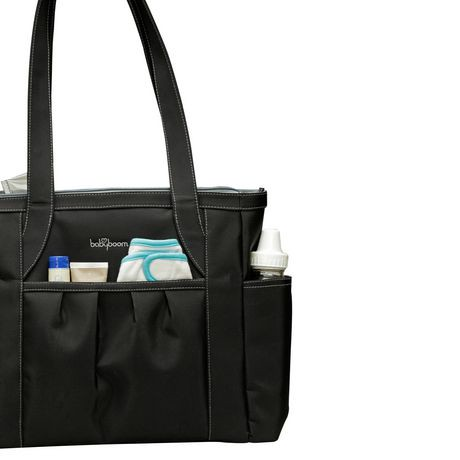 baby boom carry all tote diaper bag black walmart canada. Black Bedroom Furniture Sets. Home Design Ideas