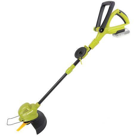 Sun Joe 24V-SB10-LTE 24-Volt iON+ Cordless SharperBlade Stringless Lawn Trimmer Kit, 10-Inch, W/ 2.0-Ah Battery and Charger - image 1 of 9