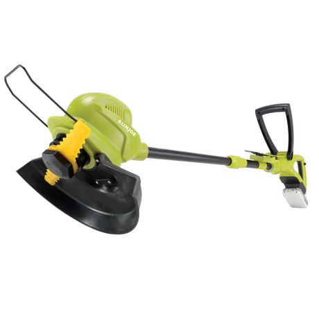 Sun Joe 24V-SB10-LTE 24-Volt iON+ Cordless SharperBlade Stringless Lawn Trimmer Kit, 10-Inch, W/ 2.0-Ah Battery and Charger - image 2 of 9