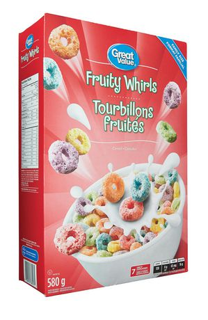 Great Value Family Size Fruity Whirls - image 2 of 4