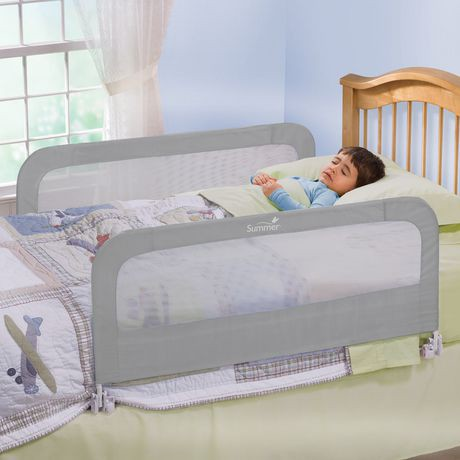 barri re de lit double s curit de summer infant. Black Bedroom Furniture Sets. Home Design Ideas