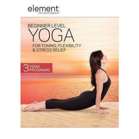 element beginner level yoga for toning flexibility